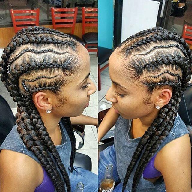 These braids are flawless @tasha_worldofstyles | #brooklynbraider #brooklynstylist #cornrows #voiceofhair