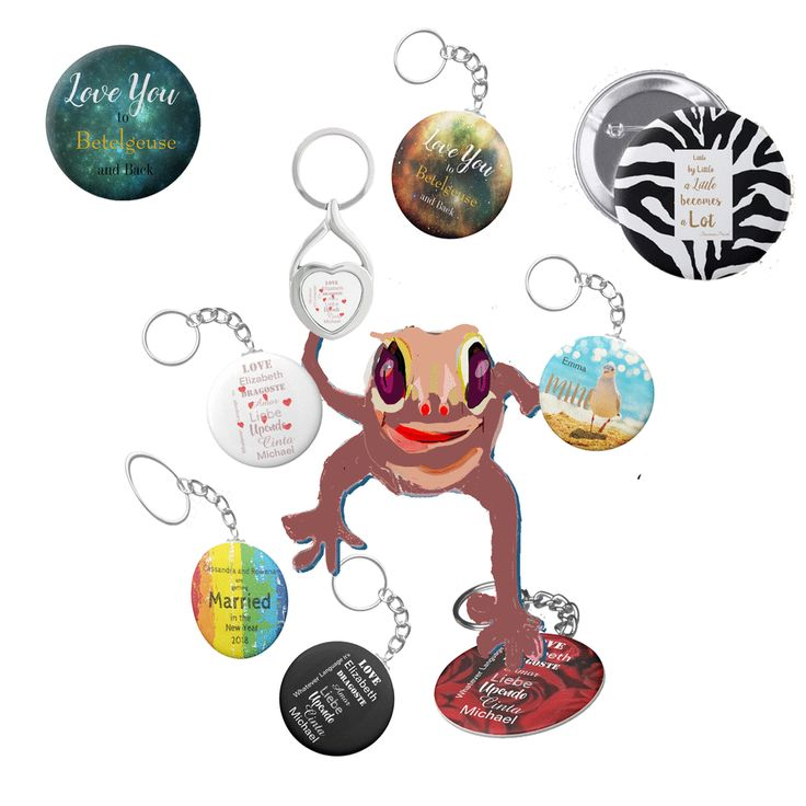 A range of Love Stories for Valentines Day. Keyring and badges that you can keep close by always.
