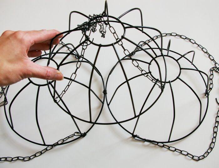 diy chandelier ideas | DIY Chandelier.....tutorial