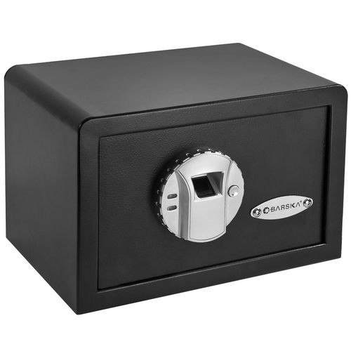 Fingerprint Recognition Wall Shelf Counter-top Mount Handgun Gun Safe