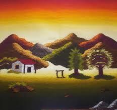 Resultado de imagen para tapices de paisajes