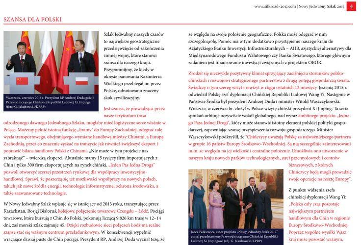 Strona 4 broszury międzynarodowej wyprawy Nowy Jedwabny Szlak 2017 - wydanie wrzesień 2016 | http://silkroad-2017.com
