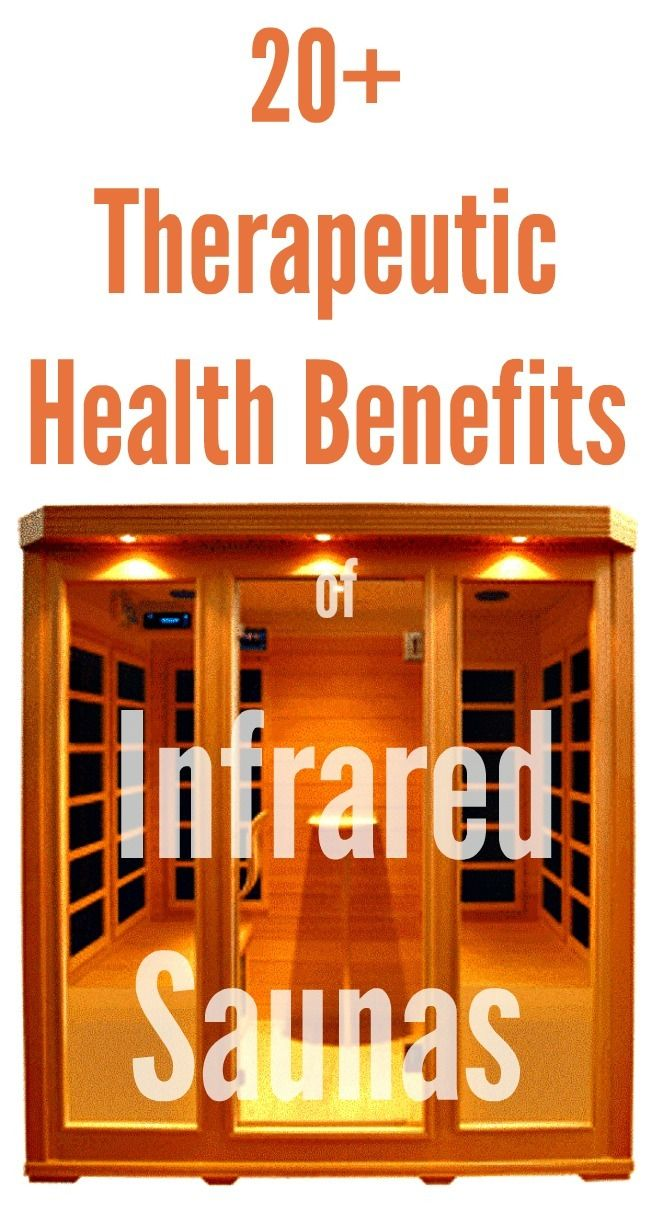 20+ Therapeutic Health Benefits of Infrared Saunas - Infographic