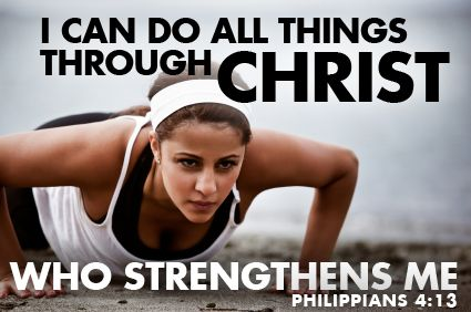 Philippians 4:13-The best kind of motivation!