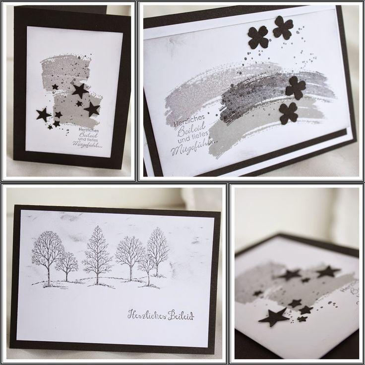 beadsdesign ♥♥♥♥ love: Trauerkarten und Blog Candy Gewinnerin