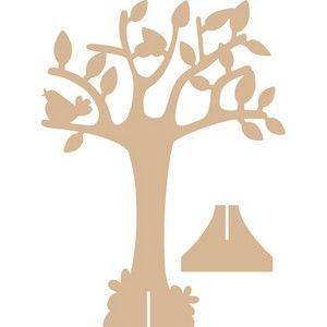 Jewelry tree template