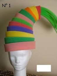 Image result for como hacer sombreros de goma espuma para cotillon