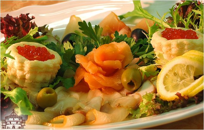 Тарелка рыбная Купеческая - Fish Plate