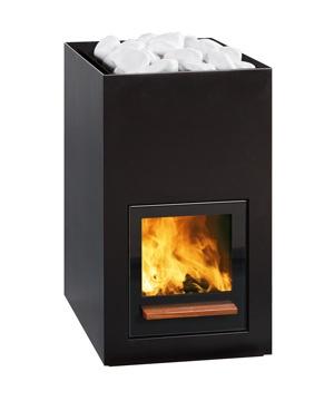 Utu - Tulikivi woodburning sauna stove.
