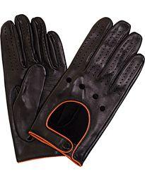 Hackett Aston Martin Racing Driving Glove Black