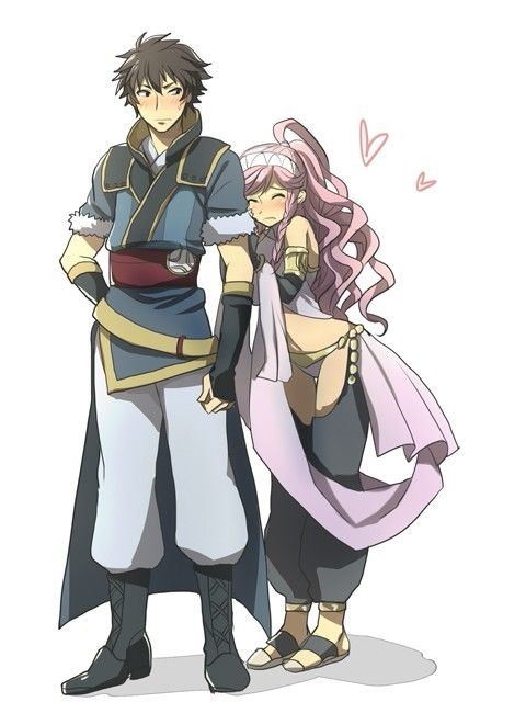 Lon'qu and Olivia oh my god I need to marry them when I ...