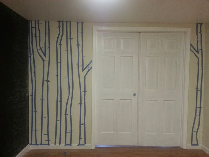 17 best ideas about birch tree mural on pinterest babies for Diy birch tree mural