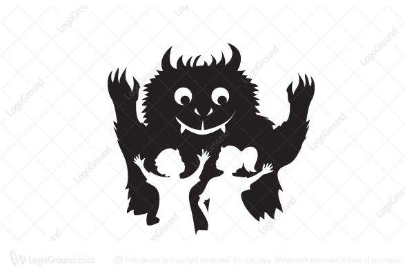 Logo for sale: Monster Logo
