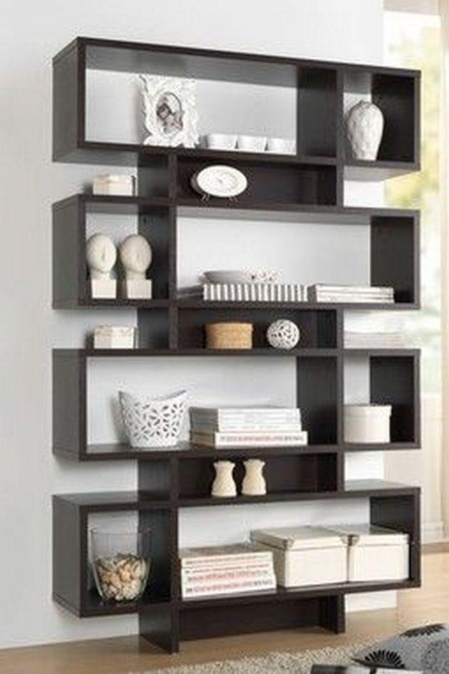 Bookshelves Decorating Ideas For Living Room 48