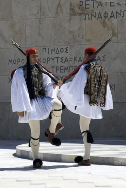 Greece traditional costume : fustanella