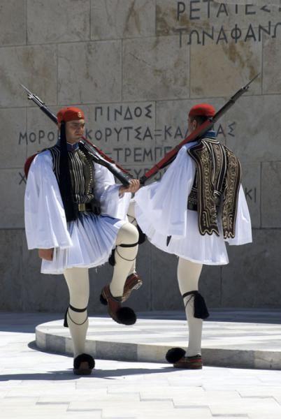Greece traditional costume : fustanella