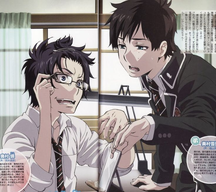 Photo of RIN & YUKIO for fans of Blue Exorcist.
