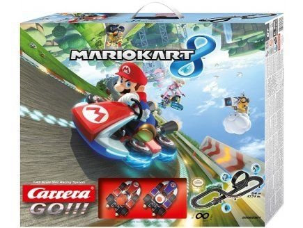 Carrera Go – Circuit Mario Kart 8 Mario et Toad – Véhicule Miniature Et Circuit – Nintendo: There are great details from Mario's world up…