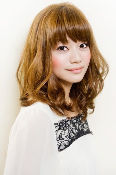I have shoulder length hair and bangs! I need to curl my hair!