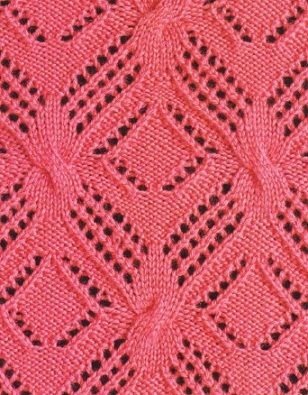 knit cable and lace