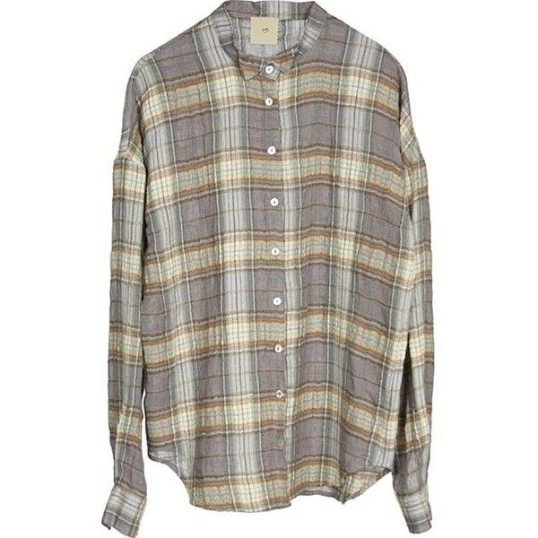 -60%Vigga shirt multi colour (5.295 RUB) ❤ liked on Polyvore featuring tops, shirts, flannels, blouses, women, colorful shirts, flannel shirts, brown shirt, multicolor shirt and shirts & tops