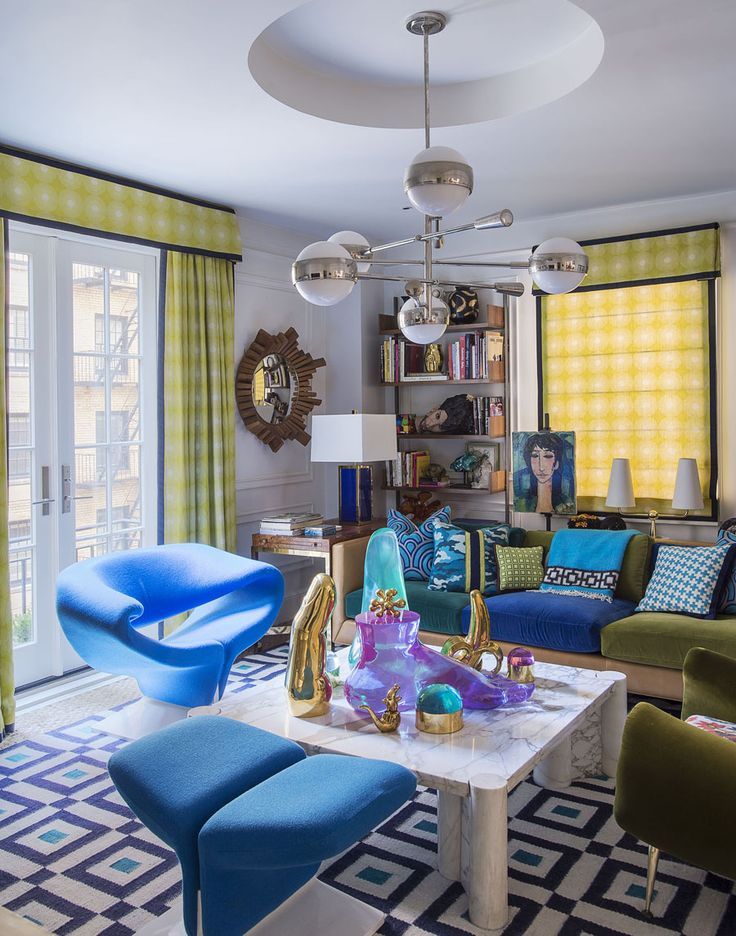 223 best Living Rooms images on Pinterest | Jonathan adler, Aqua ...