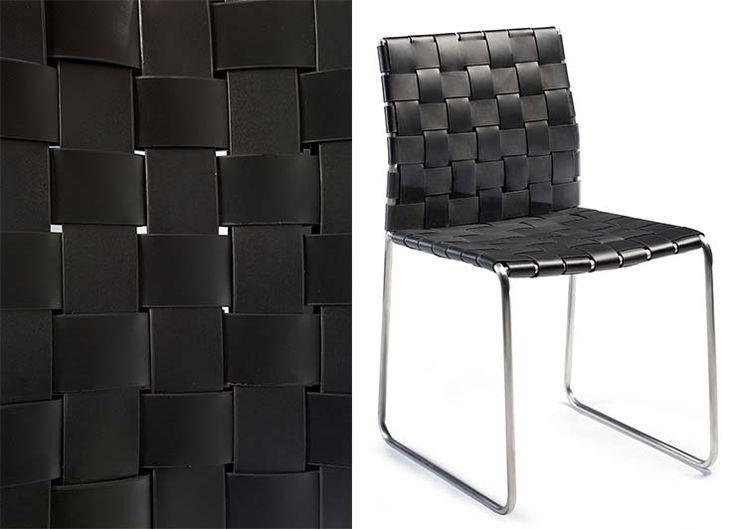 BOND CHAIR #homedecor #furniture #dinnerchair #braided #classicfurniture