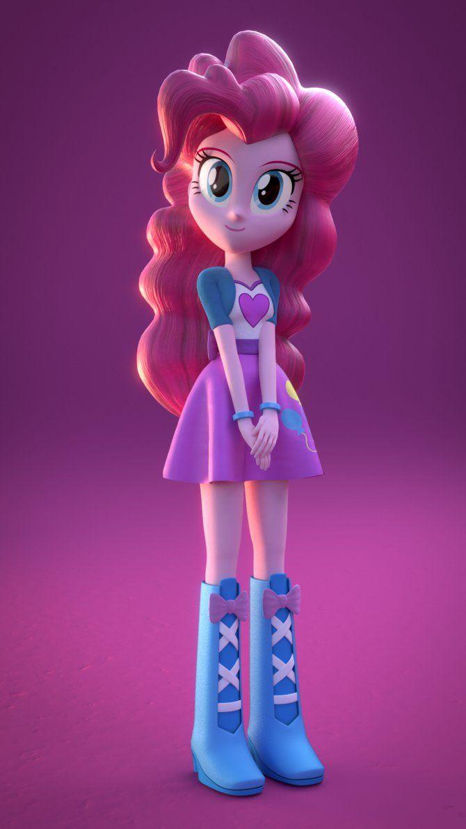 3D Pinkie Pie