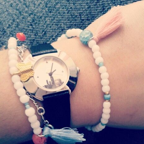 """Time for style. Summer bracelets for """" mignonne style """""""