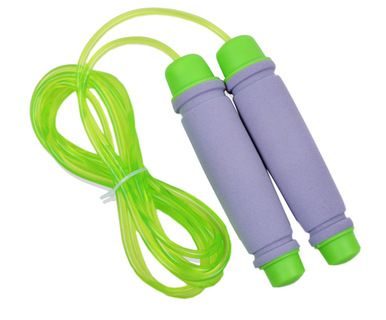Comfortable Handles Jump Rope Adjustable Jump Rope Skipping Rope Green