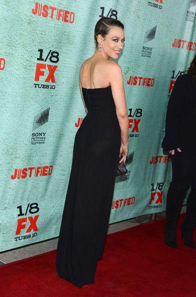 "Natalie Zea Photos: Premiere Of FX's ""Justified"" Season 4 - Arrivals"