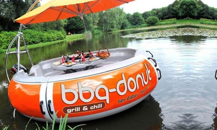 BBQ Donut Boat Rental in Cape Coral in Cape Coral