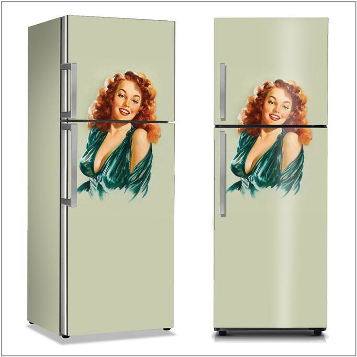 Μια ρετρό πινελιά που θα κάνει τη διαφορά στην κουζίνα σας! Αυτοκόλλητο ψυγείου: http://www.houseart.gr/details.php?id=282&pid=8567  #houseart #fridge #retro #vintage #kitchen #retro_style #diy