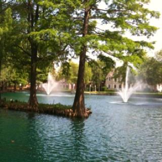 Oklahoma State University, Theta Pond!