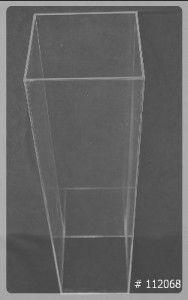 Pedestal Acrylic 12x12x48 inch 112068