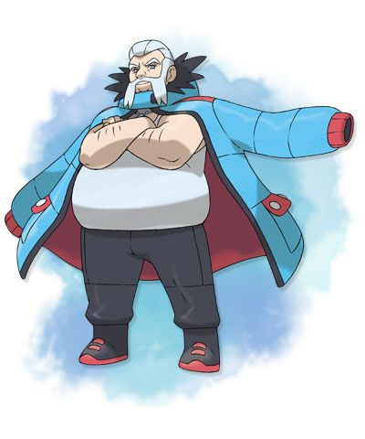Gym Leader 8 Wulfric (ice type)