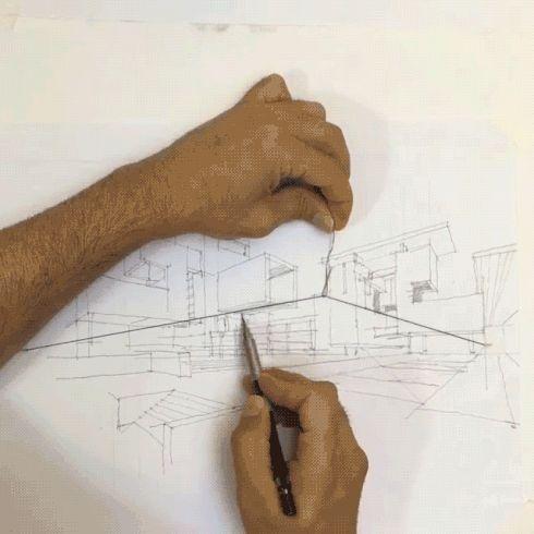 パース図がびっくりするほど簡単に描けるアイデアがスゴい。|インテリアハック