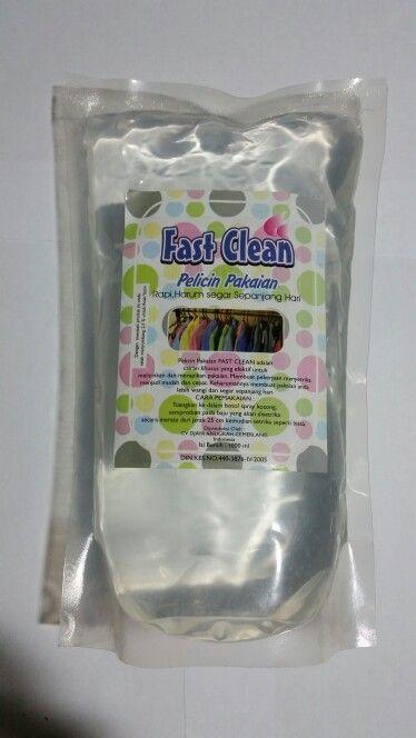 Pelicin dan pewangi pakaian..dapat digunakan saat menyetrika pakaian anda.