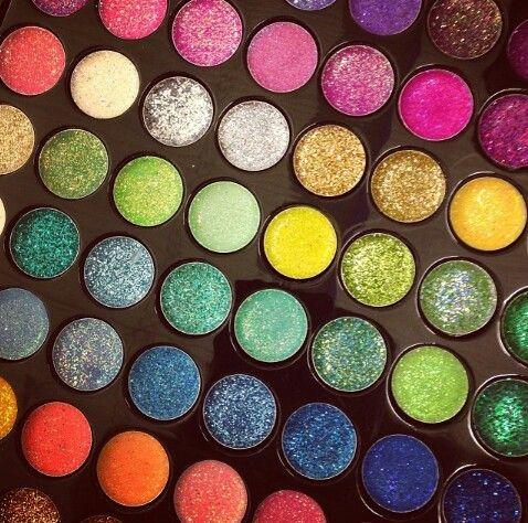 Sombras satinadas! Mucho color
