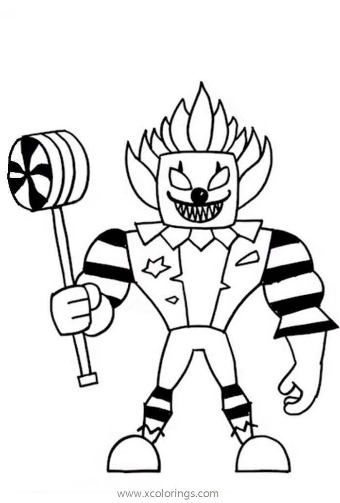 Roblox Ronald Coloring Page Coloring Pages Cool Coloring Pages Roblox