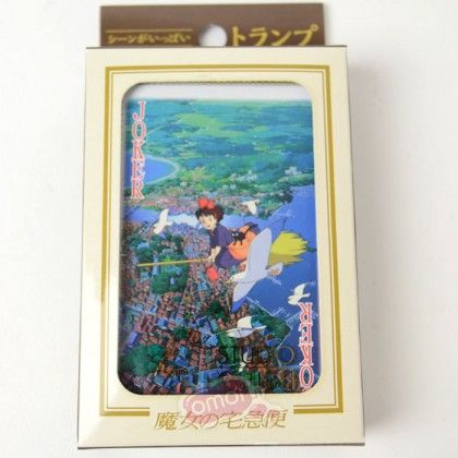 Studio Ghibli: Kiki's Delivery Service Playing cards