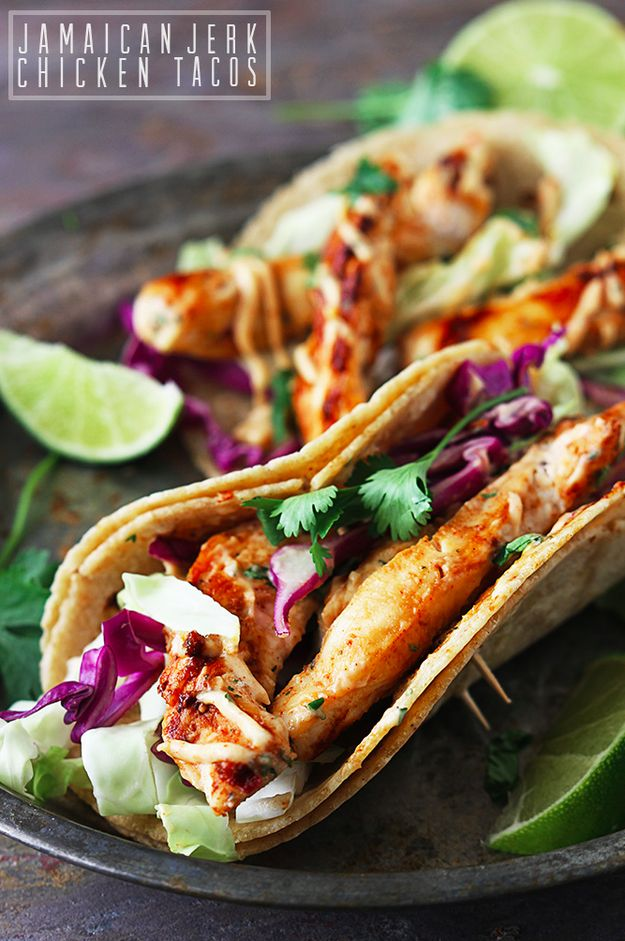 Jamaican Jerk Chicken Tacos | Here Are 20 Meals You Can Make In 20 Minutes