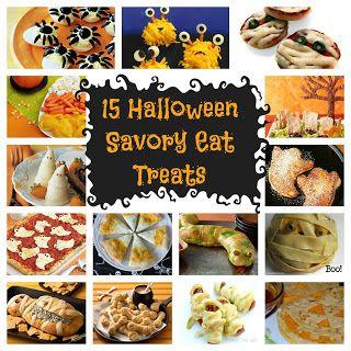 15 Kid Friendly Halloween Savory Eats - Bean Bug Crafts