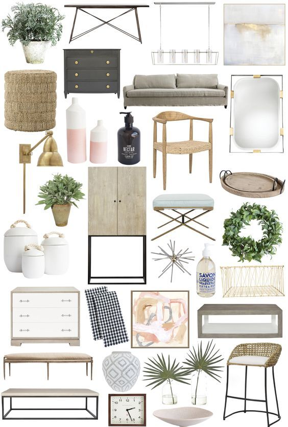 Home accessories – soft color palette