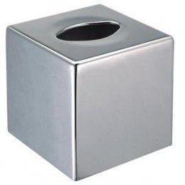 Dispensador toalla facial de medidas: 13 x 13 x 13 cm. Color: PLATEADO http://www.ilvo.es/es/product/dispensador-toalla-facial---13-x-13-cm