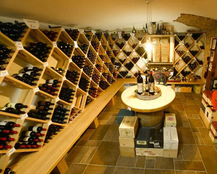 Superb Wine Cellar At Home