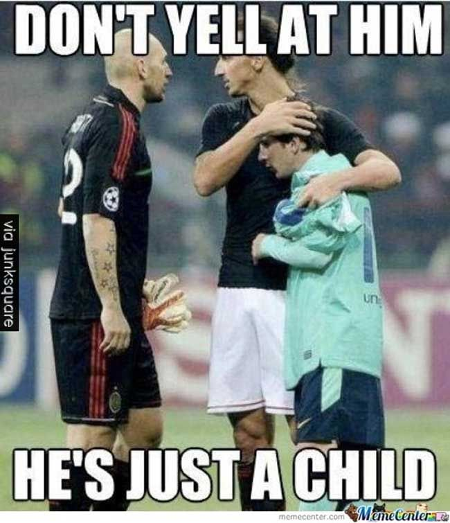 Oh Messi ! :(   Like us on facebook : https://www.facebook.com/junksquare