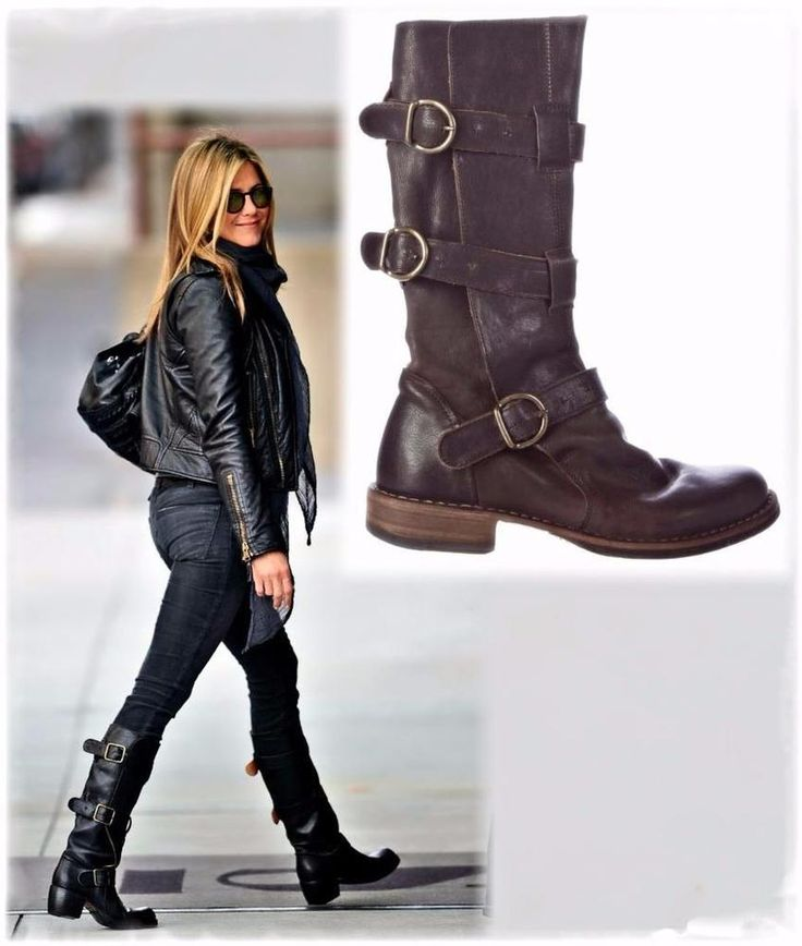 FIORENTINI + BAKER Eternity Brown Leather 3-Strap Buckle Boots 37/7 ~  OBSESSED