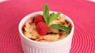 Raspberry Creme Brulee Recipe - Laura in the Kitchen
