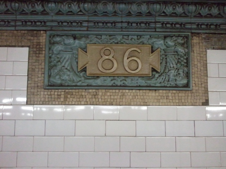 86th Street Station on 1 Line